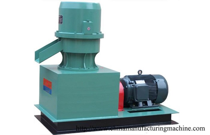 Mini wood pellet mill