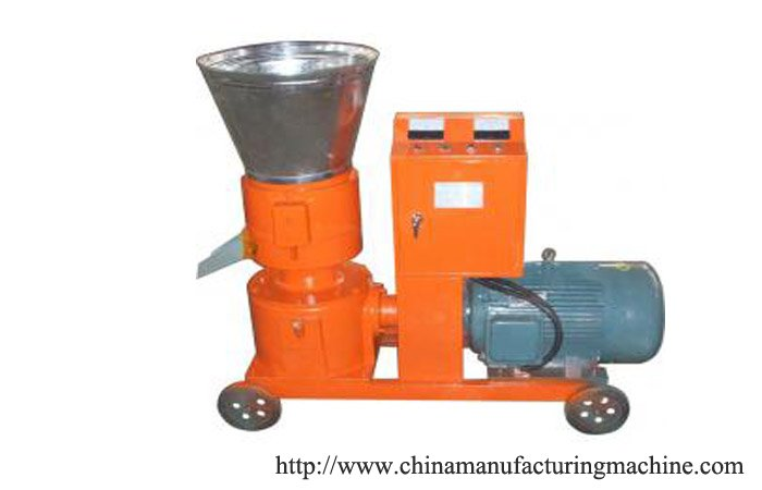 Hardwood pellets mill machine