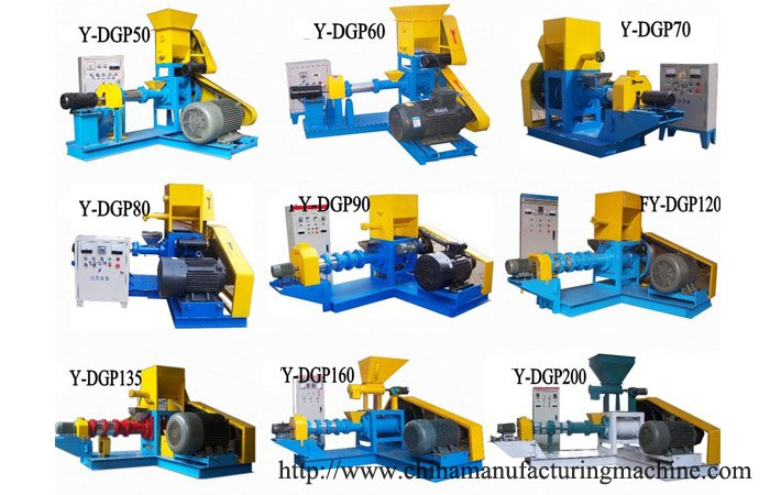 Dry Type Floating Fish Feed Machine Introduction