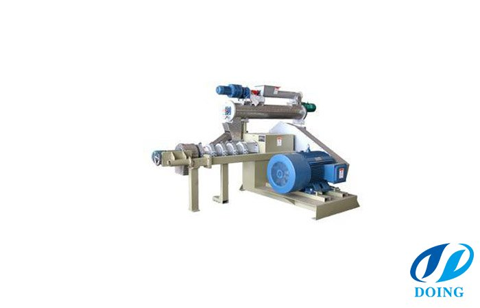 Wet trpe fish feed extruder