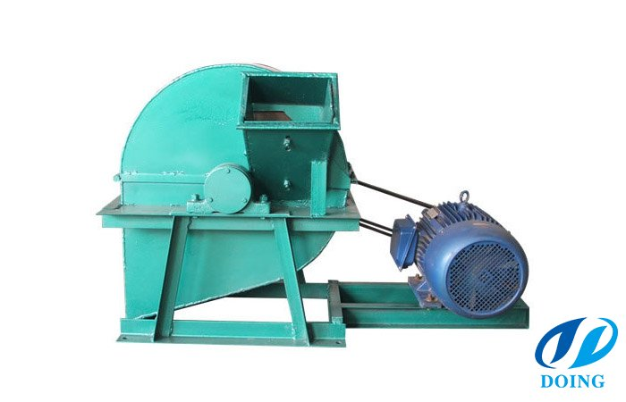 Biomass wood shaving machine