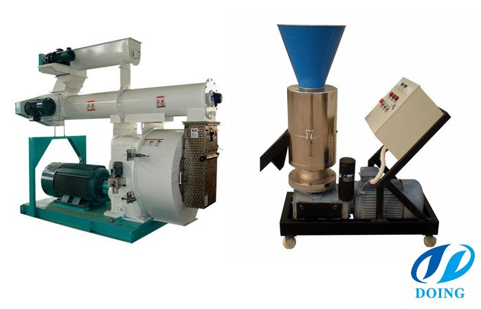 What is the wood pellet mill process ?