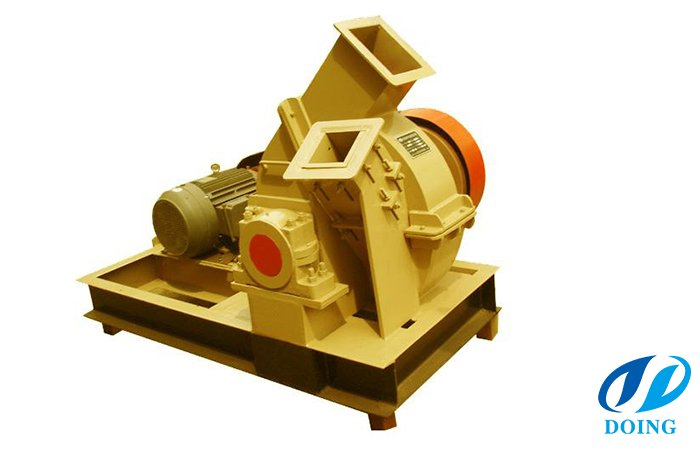 Timber waste crusher