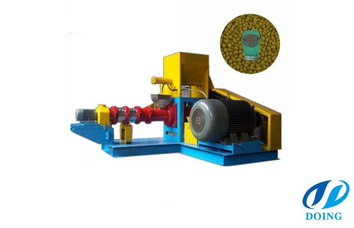 Fish feed pellet processing mill machine