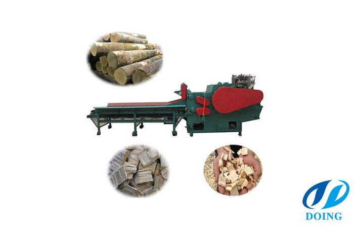 Widely used wood chipper machine