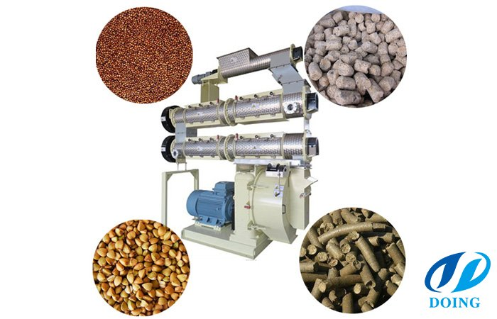 Operating points of the pellet mill