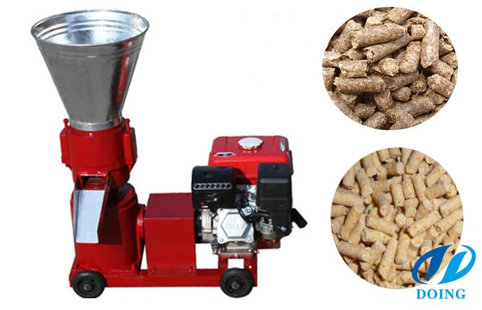 Animal feed pellet processing plant
