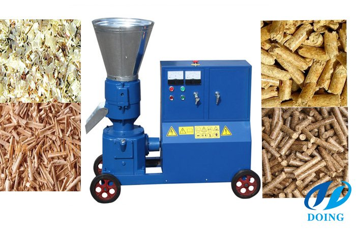 Small wood pellets machine for sale