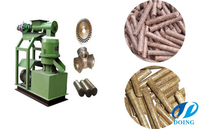Wood stove pellets mill machine